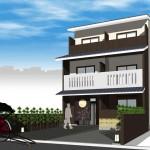 京都合法民宿旅館【一番町 館】 售價: 2億2千万円~2億4千万円